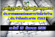 แผนการจัดซื้อจัดจ้างประจำปี2563